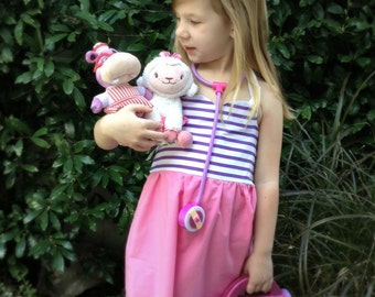 DOC MCSTUFFINS Inspired Sweetheart Dress