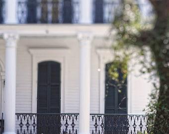 "New Orleans Photography ""Garden District Dream"" Art - architecture, garden district, home decor, wall art, photograph"