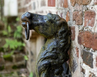 Charleston SC Photography, Horse Hitching Post Print, Travel Picture, Affordable Home Decor, Southern Art, South of Broad, Low Country