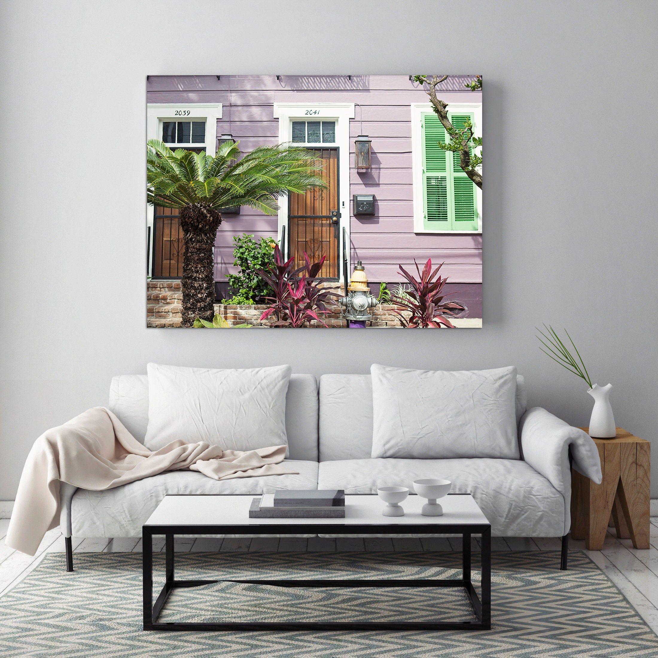 Home Decor New Orleans: Living Room Art New Orleans Print Louisiana Home Decor