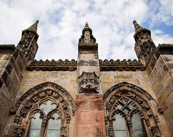 Rosslyn Chapel, Scotland Print, Church Art, Fine Art Photography, Architecture Wall Art, Large Scale Art, 11x14, 16x20, 20x24, 24x36