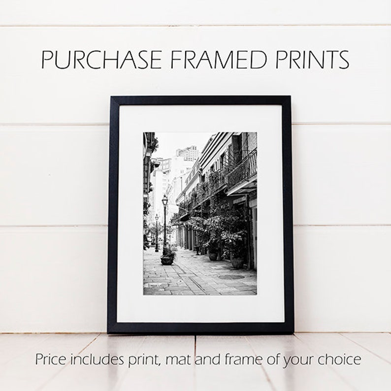 Any Photograph Framed Custom Framed Gallery Wall Art and image 0