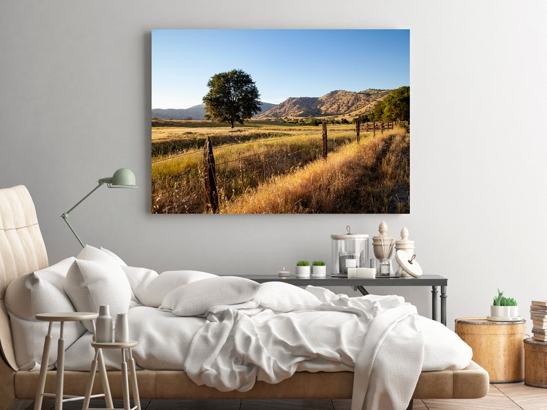 California Desert Landscape Photography Print Oversized Wall image 0