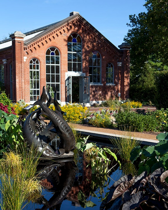 Missouri Botanical Garden Living Room Art St Louis Missouri Etsy