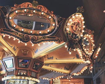 Hotel Monteleone Carousel Bar New Orleans Art Photography, French Quarter Photograph, Wall Art, NOLA Art Print