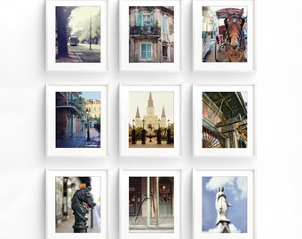 New Orleans Print Set SALE, Fine Art Photography Gallery Wall Collection, French Quarter Home Decor
