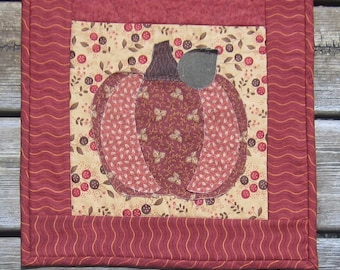 Autumn Fall Harvest Pumpkin Thanksgiving Quilted Table Runner Quiltsy Handmade