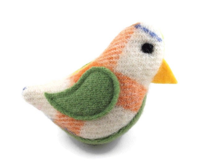 Featured listing image: Birds of a Sweater Catnip Cat Toy - Multicolor and Green
