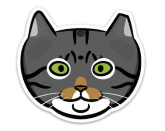 Walter Feral Cat Sticker