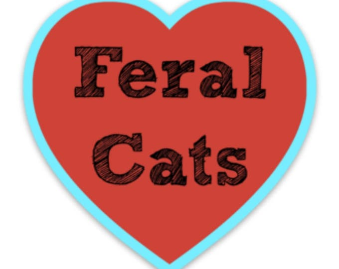 Featured listing image: Feral Cat Love Magnet