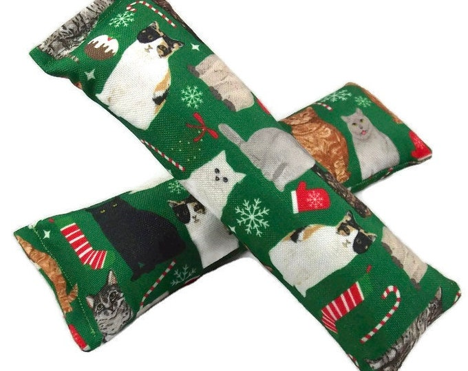 Featured listing image: Eco-Kicker Catnip Cat Toy - Meowy Christmas