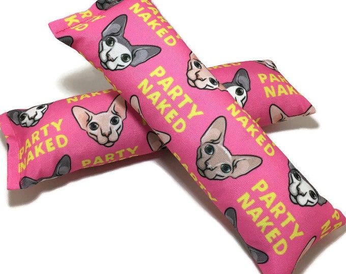 Featured listing image: Eco-Kicker Catnip Cat Toy - Party Naked