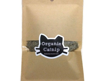 Organic Catnip - Refill for 4oz Jar