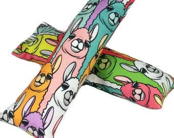 Eco-Kicker Catnip Cat Toy - Rainbow Llamas