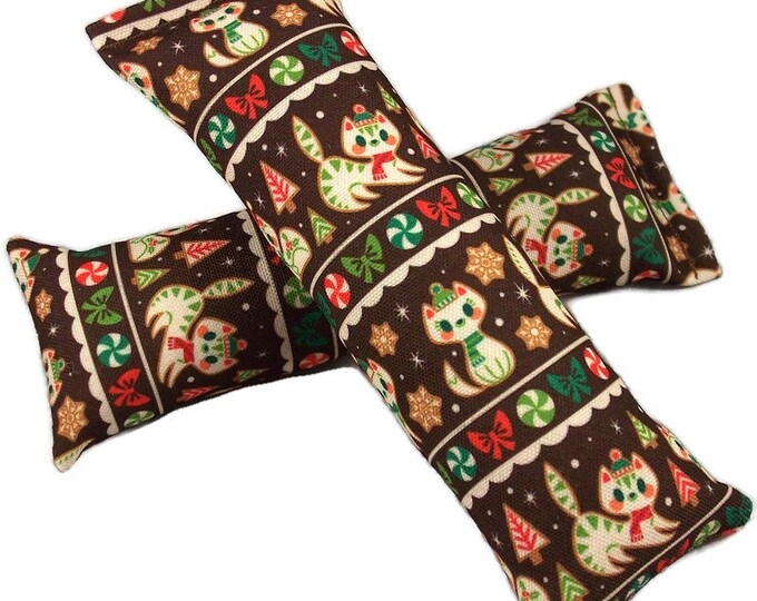 Featured listing image: Eco-Kicker Catnip Cat Toy - Gingerbread Cats