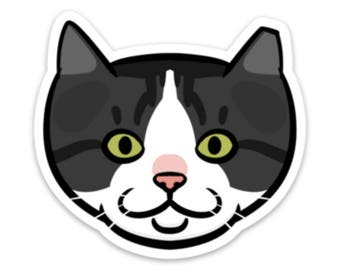 Apolla Feral Cat Sticker