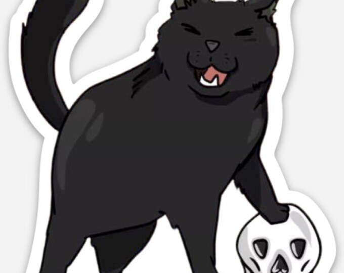 Featured listing image: Spooky OT 3 inch Sticker or Magnet