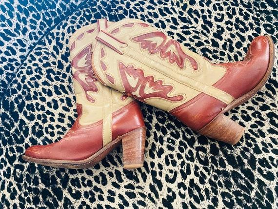 Vintage late 70's Miss Capezio Buttlerfly Cowboy -