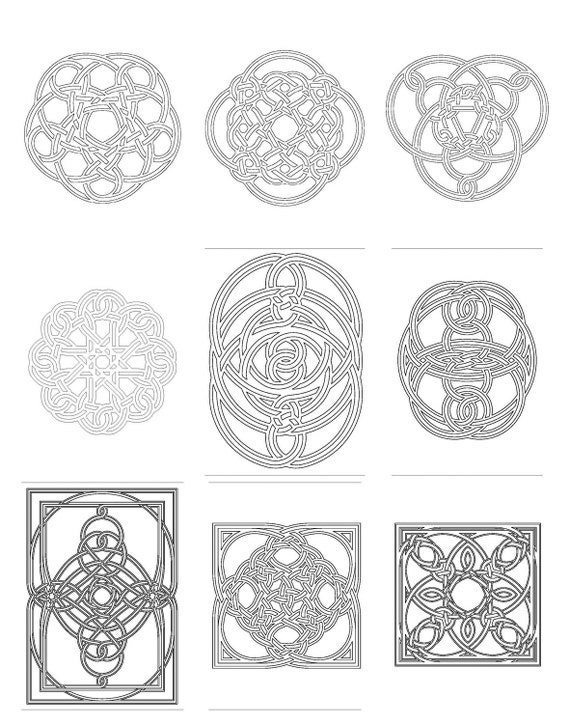 Celtic Knot Coloring Book 2, PDF