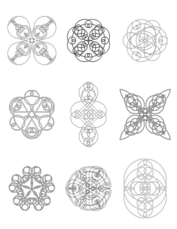 Celtic Knot Coloring Book 7, PDF
