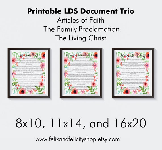 image regarding The Family a Proclamation to the World Free Printable referred to as Printable LDS-The Loved ones: A Proclamation toward the Worldwide, The