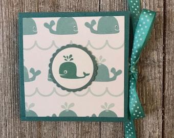 Beluga Bubbles Accordion Mini Photo Book