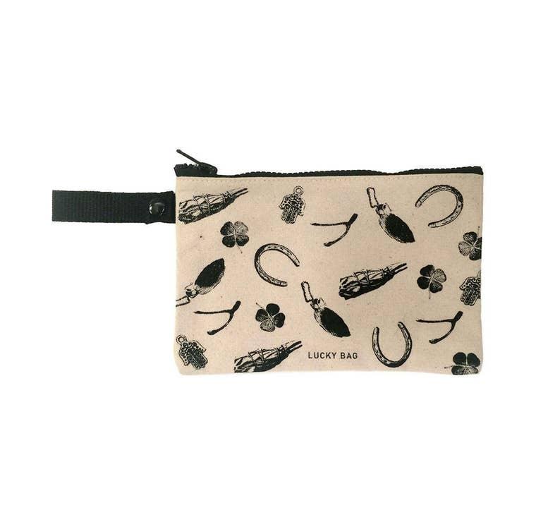 Lucky Bag Tote Pocket.