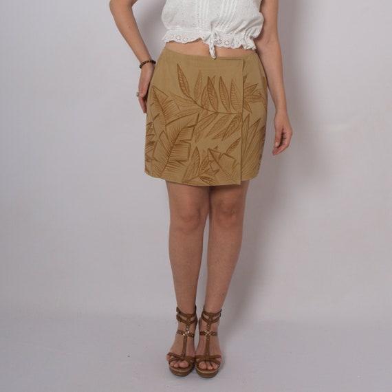 Silk Skirt Wrap Skirt Size Silk Wrap Skirt Palm Le