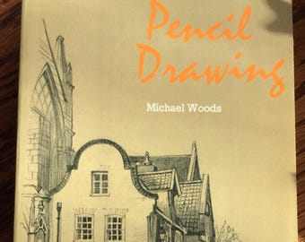 Pencil Drawing by Michael Woods Dover Publications book learn how to draw