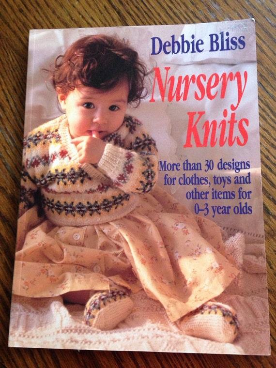 Nursery Knits Knitting Pattern Book By Debbie Bliss 30 Etsy