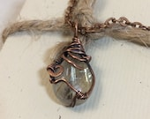 Rutilated Quartz Pendant ...