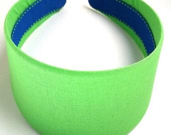 Sour Apple Green Headband 2 Inch