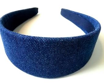Denim Headband 2 Inch