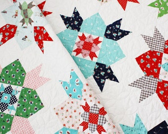 Country Fair Quilt Pattern - PDF