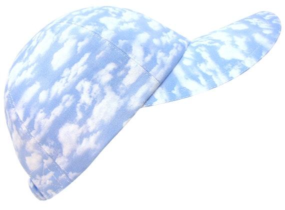 8f7628ca835 Daydreams Powder Blue Sky White Clouds Ladies Womens