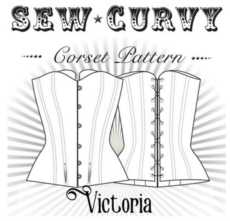f1ab8780999 Overbust Corset Pattern by Sew Curvy Corsetry