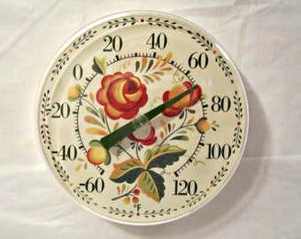 Thermometer, Retro Wall Thermometer, Dial Thermometer