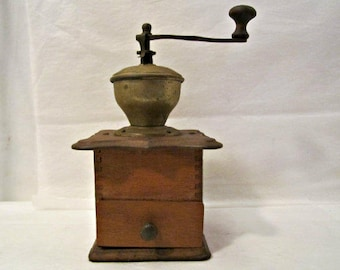 Coffee Mill, Coffee Grinder, Antique Coffee Mill, Coffee Bean Mill, Coffee Grinder, Coffee, Kitchen Decor