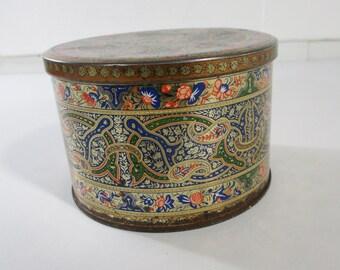 Tea Tin, English Tea Tin, Decorative Tea Tin