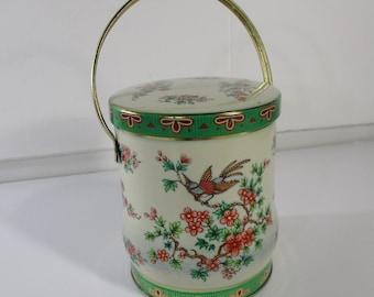 Candy Tin, English Candy Tin, Decorative Tea or Candy Tin