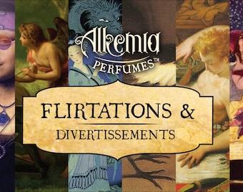Flirtations and Divertissements Sample Set