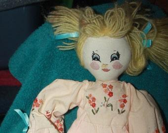 vintage Applause Knickerbocker Raggedy Ann rag doll
