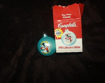 vintage 1998  Collectors editon Campbells Soup ornament