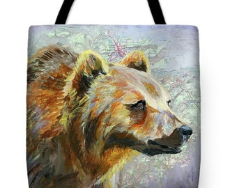 Art Print on Canvas Tote
