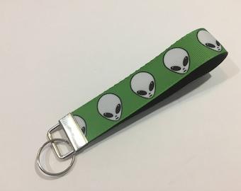 Aliens Key Fob Keychain wristlet