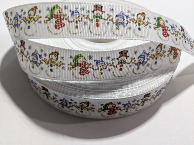 Adorable Snowman Family #10987 3 Yards of 78 Ribbon