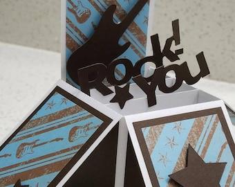 You Rock 3D Card