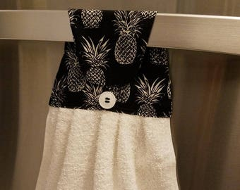 Pineapple Hanging Kitchen Towel