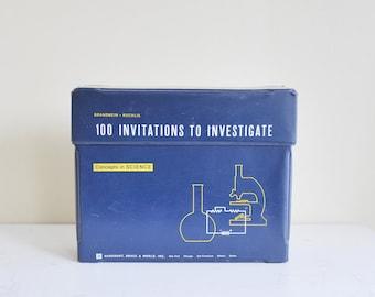 100 Invitations to Investigate Concepts in Science Brandwein Ruchlis