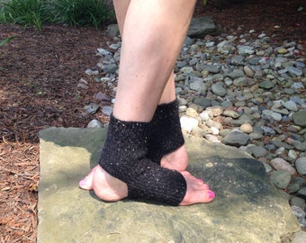Black Yoga/Dance Socks